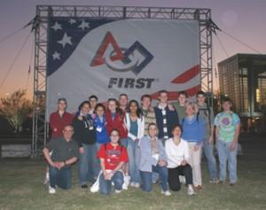 DSC00649_  Team 501 at dusk 04-17-08 jpg
